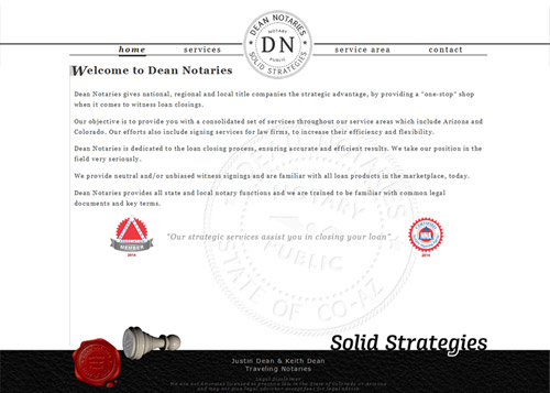 dean notaries website