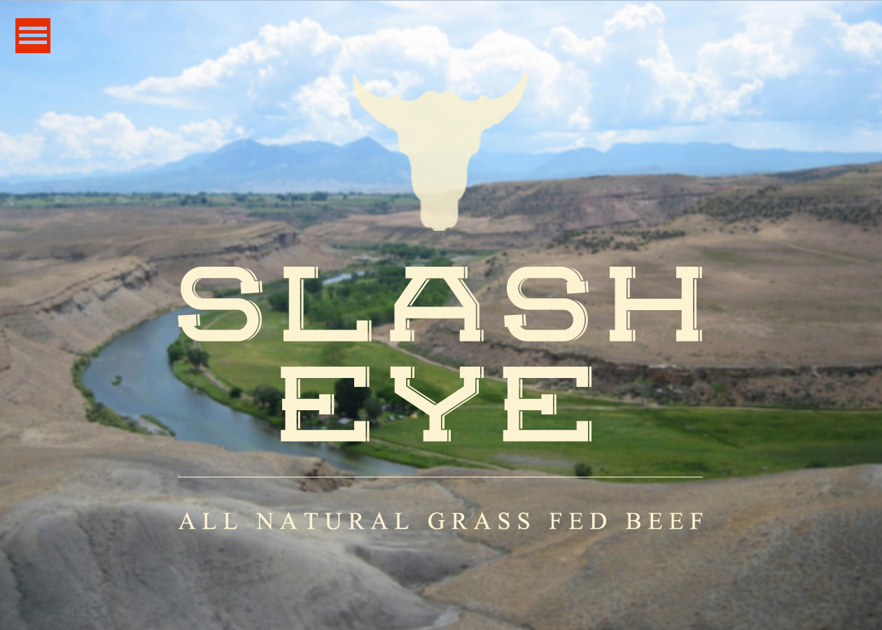 slashey all natural beef website