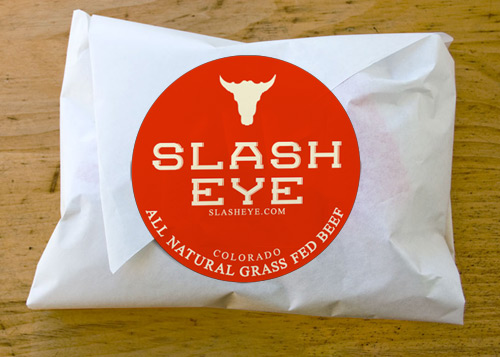 slasheye all natural beef sticker graphics